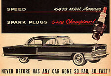 "ORIGINAL 1955 PACKARD PATRICIAN IN CHAMPION MAGAZINE ADVERTISEMENT- 10"" X 13"""
