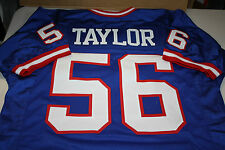 NEW YORK GIANTS #56 LAWRENCE TAYLOR CUSTOM JERSEY HOF 1999 SIZE XXL