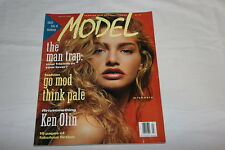 Model Magazine March 1990 Michaela Bercu Cover Hard to Find