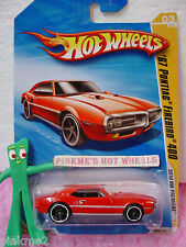 2010 #3 Prem Hot Wheels '67 PONTIAC FIREBIRD 400∞1967 03/214∞RED variant∞Premier