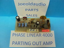 Phase Linear 4000 Log Amp Board. Parting Out Phase Linear 4000.