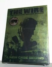 The Wire 2005 The Complete Second Season DVD 5 Disc Set new in plastic seal