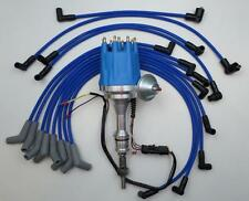 small cap FORD 5.0L 302 EFI to Carb Conversion HEI Distributor +SPARK PLUG WIRES