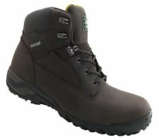 Rock Fall Flint Brown S3 SRA Size 6 Composite Toe Cap Hiker Safety Work Boots