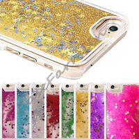 Glitter Bling Stars Dynamic Liquid Colourful Case Cover For iPhone 5S 5C 6 Plus