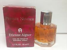 "Private Number Etienne Aigner 1.7 oz 50 ml EDT Spray For Women New in Box ""RARE"""