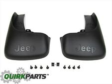 2005 2006 2007 Jeep Liberty Rear Black Molded Splash Guards MOPAR GENUINE OEM