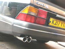 SAAB 900 CLASSIC CARLSSON STAINLESS TWIN TAILPIPE TURBO AERO SPG CONVERTIBLE