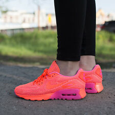 NIKE AIR MAX 90 ULTRA BREATHE CRIMSON/PINK BLAST SIZE 7.5 UK EU 41.5 NEW