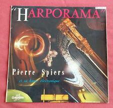 """PIERRE SPIERS ET SA HARPE ELECTRONIQUE  LP 10"""" 25 CM HARPORAMA"""