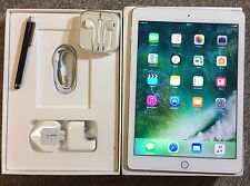 *GRADE A+* Apple Ipad Air 2 16 GB Wi-Fi + 4G (Unlock), Silver, Finger Touch ID.