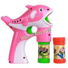 Dolphin Gun Seifenblasen-Maschine für Kinder Plastik Blowing Bubbles Spielzeug