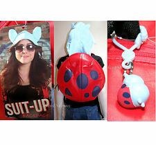Cartoon Hangover BRAVEST WARRIORS CATBUG SUIT-UP HOOD Backpack + KEYCHAIN CLIPON