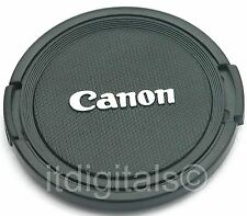 52mm Lens Cap For Canon EF 60mm 135mm 55-200mm USM Snap-on Safety Cover 52 mm