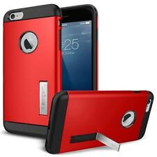 iPhone 5s/5 Case Hülle: Tough Armor  for iPhone Kick-Stand Rot