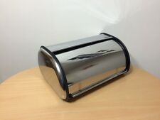 Mirror Finish Stainless Steel Bread Box Kitchen Food Storage