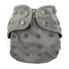 NEW DESIGN Bumkins Snap One-Size Cloth Diaper Cover - Solid Gray