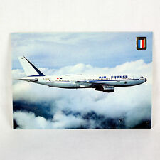 Air France - Airbus A300 - 1970's - F BVGA - Aircraft Postcard - Top Quality