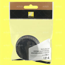 Genuine Nikon LF-4 Rear Lens Cap Camera Dust Cover