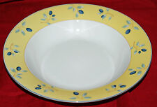 "(1) 8-1/2"" Royal Doulton China Rimmed Soup Bowl(s)   Blueberry  Great Shape"