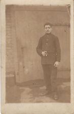 Carte photo ancienne soldat prisonnier Allemagne 19ème régiment guerre 39 /45
