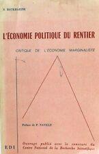 L' économie politique du rentier  BOUKHARINE  Edi
