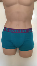 """MENS BOYS CAVAILIA HIPSTER STRETCH BOXERS TURQUOISE UNDERWEAR SMALL 28""""-30"""""""