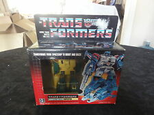 1985 Transformers Sealed Autobot Topspin MIB Box Misb