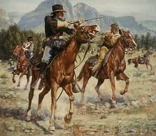 """Scout's Blunder"" Don Stivers Commemorative Edition Giclee Print - US Cavalry"