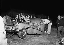 1953 Buick Special Roof crushed Vintage car wrecks 5 x 7  Photograph