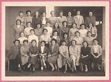 ORAN - Collège Moderne de Jeunes Filles - Photo de classe 2e 1952-53