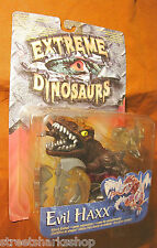 Extreme Dinosaurs Action Figure Mattel Evil Haxx nuovo in box 16514 vintage 1997