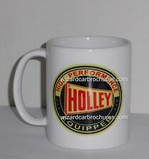 COFFEE MUG 11oz HOLLEY CARBURETOR CARBY 750 DOUBLE PUMPER FORD GT HOLDEN GTS