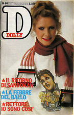 DOLLY 60 1979 Riccardo Fogli Rettore Clint Eastwood Kabir Bedi Roberto Benigni