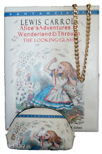 ALICE IN WONDERLAND BOOK STYLE CLUTCH BAG WITH MATCHING PURSE