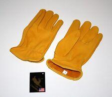 Premium Hirschleder Handschuhe Reithandschuhe Western Cowboy Gr. XL
