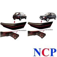 PEUGEOT 205 GTI MK 2 90-96 FRONT & REAR BUMPER BLACK WITH RED TRIM & BOLTS