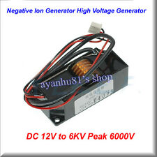DC 12V to 6KV Peak 6000V Negative Ion Generator High Voltage Generator Module