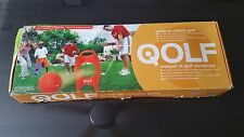 NEW Qolf Set Complete Off Course Golf Game Croquet Improve Chipping Pitching