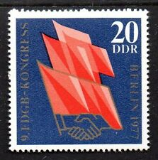 Germany / DDR - 1977 Union congress Mi. 2219 MNH
