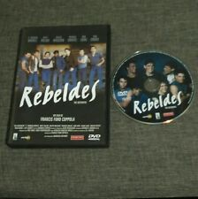 DVD REBELDES - THE OUTSIDERS - FRANCIS FORD COPPOLA - TOM CRUISE - MATT DILLON