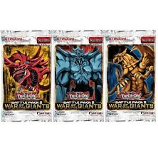 1 YUGIOH BATTLE PACK 2 WAR OF THE GIANTS FACTORY SEALED BOOSTER 1ST ED