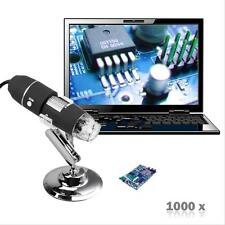 1000x8led DIGITALE USB microscopio Zoom 2MP ENDOSCOPIO pezzi Videocamera Video