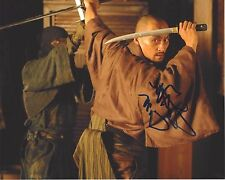 ACTOR KEN WATANABE HAND SIGNED THE LAST SAMURAI MOVIE 8X10 PHOTO W/COA INCEPTION