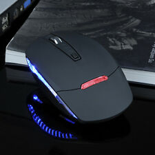 2.4G 800-2000DPI USB Maus Mini Wireless Optisch Gaming LED Mäuse PC Laptop Mac