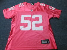 WOMEN'S NFL TEAM APPAREL GREEN BAY PACKERS CLAY MATTHEWS PINK JERSEY SIZE S