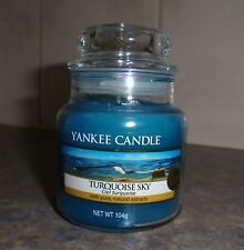 "New -  "" Turquoise Sky"" - By Yankee Candle - 3 oz"