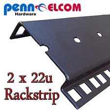 22u Double Rackstrip,data strip,servers rack strip flightcase