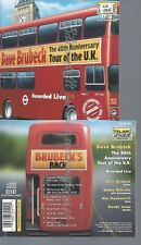CD--DAVE BRUBECK--THE 40TH ANNIVERSARY TOUR U. K.