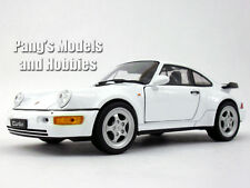 Porsche 911 / 964 Turbo  1/24 Scale Diecast Metal Model by Welly - WHITE